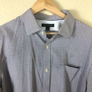 Like new Banana Republic no-iron button down shirt